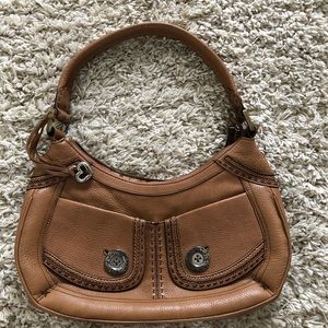 Tan leather purse Brighton